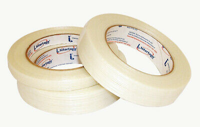 INTERTAPE Filament Strapping Tape RG286 - Full Case - 24mm x 60yd - 36 Rolls