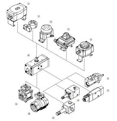 Festo 397474 DAPS-0180/S0090 Set Of Wearing Parts
