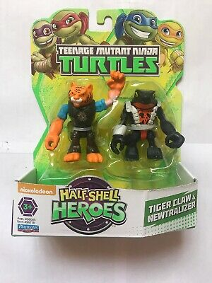 TEENAGE MUTANT NINJA TURTLES HALF SHELL HEROES SHREDDER /& FOOT SOLDIER VHTF