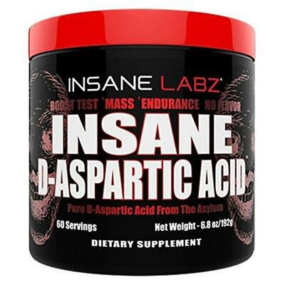 Insane D-Asparatic Acid - 60 Servings By Insane Labz