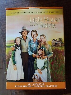 Little house on the prairie complete series dvd