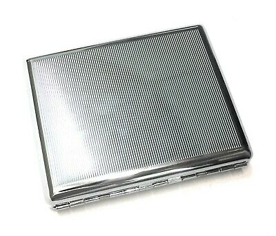 100's Metal Double Sided King Cigarette Case US Seller Free Shipping