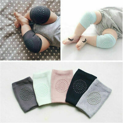 Safety Crawling Knee Elbow Pads Leg Protector Anti-Slip for Infant Kids Baby HOT