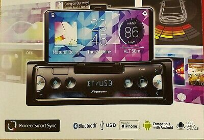 Pioneer SPH-10BT Apple car play Android bluetooth USB BT NEW