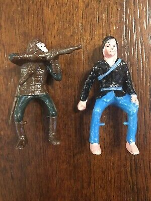 Planet of the Apes and Caine Kung Fu 1960s Figures Made for Sears RARE Nice!
