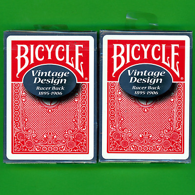 Bicycle Racer Playing Cards Vintage Design Ohio