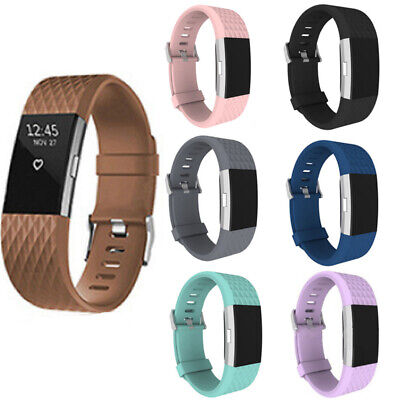 For Fitbit Charge 2 Band Replacement Wristband Watch Strap Bracelet Small-Large