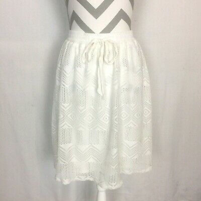 Joe Benbasset Black White Dots Pull-on Flare Skirt Size Xl Nwt Poly Spandex Vgc Skirts Clothing, Shoes & Accessories