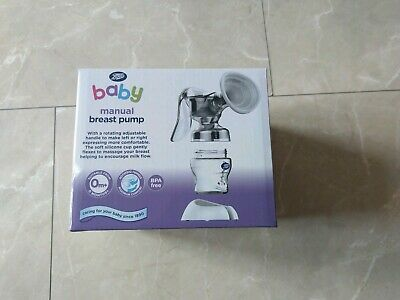 Brand New in box Manual Breast Pump from Boots baby