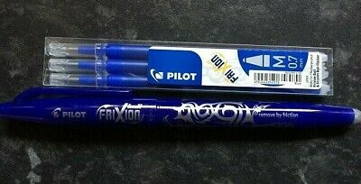 Frixion Classic pen AND Refill - NAVY  3 pk