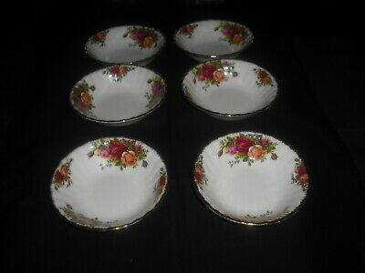 Royal Albert 'Old Country Roses' Set 6 X Fruit Bowls 1St
