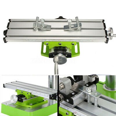 1* Bench Worktable Milling Machine Vise Compound Cross Table Drill Multifunction