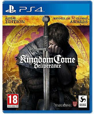 Kingdom Come Deliverance - Royal Edition Ultimate Ps4 Italiano Play Station 4