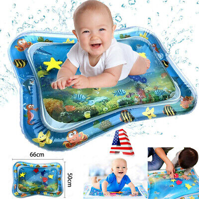 Inflatable Baby Water Mat Fun Activity Play Center for Children & Infants 3month