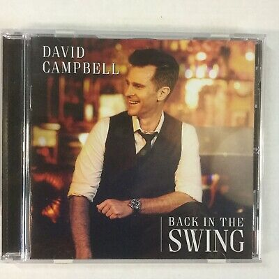 David Campbell Back To Swing Like New 2019 CD
