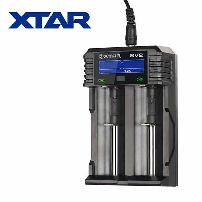 New XTAR ROCKET SV2 LCD Fast Battery Charger ( AA / AAA / C / D / 18650 / 32650)