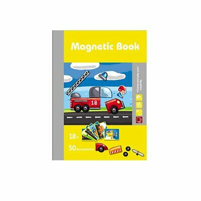 Kids Wooden Puzzle Educational Drawing Board Toy Magnetic Puzzle Drawing Boardvq