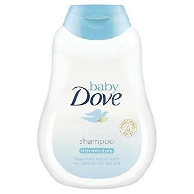Dove Baby Shampoo Rich Moisture 200ml Tear Free Hair Care No Parabens pH Neutral