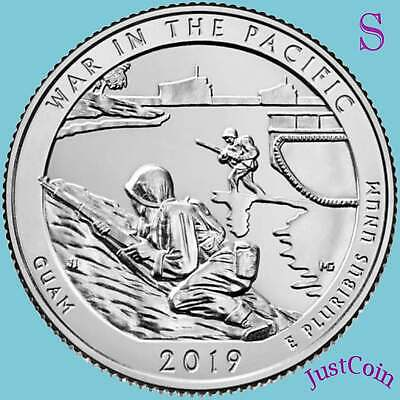 2019-S War In Pacific (Guam) National Park Uncirculated Quarter