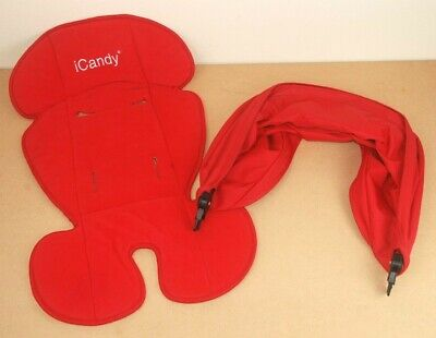 iCandy Apple Jogger Raspberry Flavour Pack Canopy Hood Liner Apple to Pear