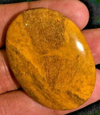 Natural camel jasper Gemstone Cabochon Amazing Quality Shape Oval 74 Cts L#8