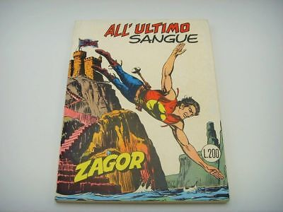 Zagor Zenith N.143 all'Ultimo Sangue Excellent Edicola Sergio Bonelli