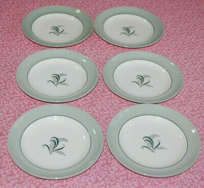 Copeland Spode Olympus Set 6 Side Plates 16cms in Diameter. C1950's.