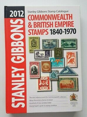 2012 Stanley Gibbons Commonwealth & British Empire Part 1 Stamp Catalogue.
