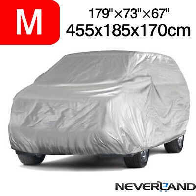 M Full Car Cover For SUV Truck Waterproof In Out Door Dust UV Ray Rain Protector