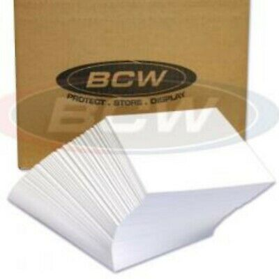 "BCW Magazine Sleeve Backer Boards Only Lot Acid Free Bag Backing 8 1/2"" x 11"""