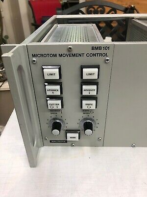 Balzers Freeze Etching Micro Movement Control BMB101
