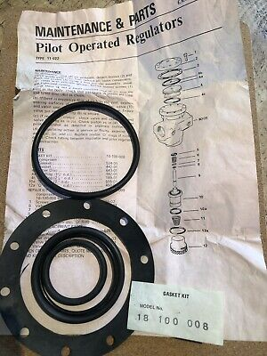 Norgren Air Pressure  11-022 Regulator Gasket Kit 18100008 Incomplete