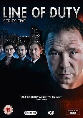 Line of Duty - Series 5  with  Adrian Dunbar New (DVD  2019)