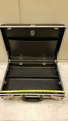 Technician Electronics Tool Case with key for pallets Briefcase Bag Kit Service