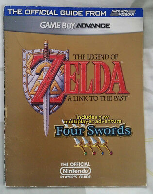 The Legend of Zelda: A Link To The Past Four Swords Nintendo GBA Strategy Guide