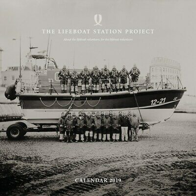 Jack Lowe Lifeboat Station Project Calendar 2019 RNLI