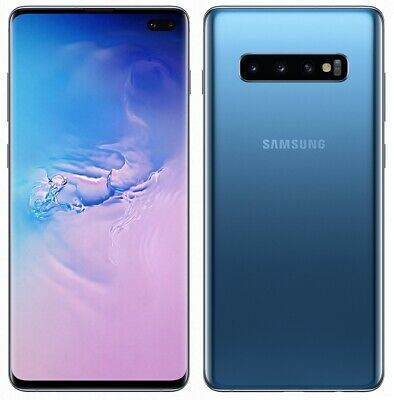 Samsung Galaxy S10+ Plus Prism Blue 128GB SM-G975F/DS (FACTORY UNLOCKED) 6.4""