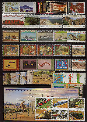 Australia 1993 Mint unhinged  Year collection stamps.Value.
