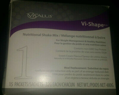 Body By Vi Shape Shake Mix Box Of 15 Single Serving Packets Exp 6/2019