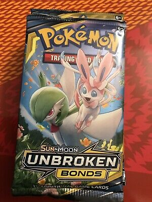 Pokemon UNBROKEN BONDS Booster Pack- Factory Sealed