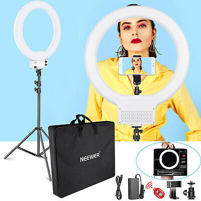 18 inch LED SMD Ring Light Lighting Kit with Carrying Bag for Video Shooting