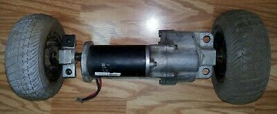 CIM 24 Volt DC Motor Drive Trans-axle With Rims & Wheels Mobile Power Scooter