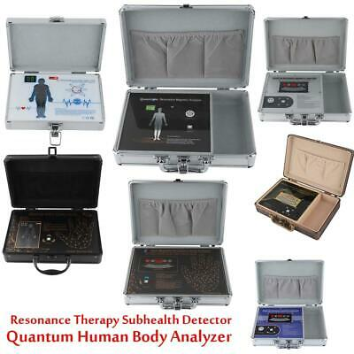 Multilingual Quantum Body Analyzer Magnetic Resonance Therapy Sub Health Detect