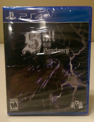 New Sealed Salt and Sanctuary PS4 Rare Limited Run #166 SOLD OUT