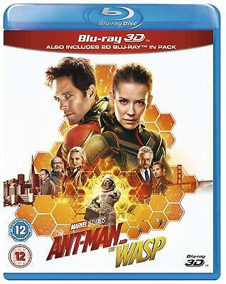 ANT-MAN AND THE WASP 3D and 2D BLU-RAY - REGION FREE ANTMAN BLURAY 2 DISCS