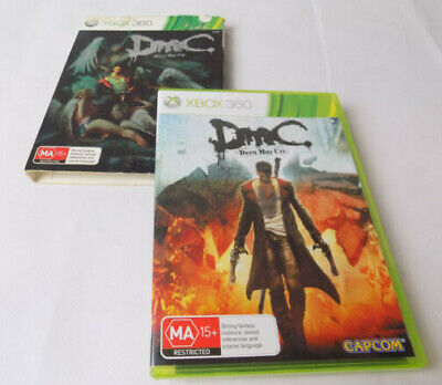 Mint Disc Xbox 360 Devil May Cry Free Postage