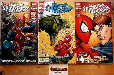 AMAZING SPIDER-MAN 1/13 (#710/#722) Marvel Panini Comics 2018/2019 NUOVI!