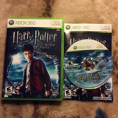Harry Potter and the Half-Blood Prince (Microsoft Xbox 360, 2009) Complete