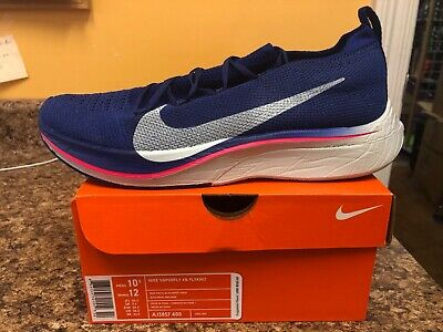 686d7269bc50 Mens Nike Zoom Vaporfly 4% Flyknit Royal Blue Running 2019 - USA SELLER