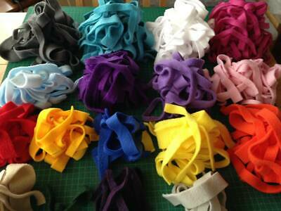 Fleece Material ~ Ribbons, Small Pet Bedding, Nesting Material, Dig Boxes